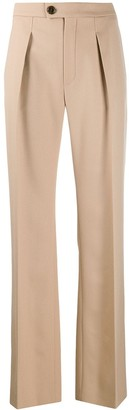 Chloé High-Rise Palazzo Trousers