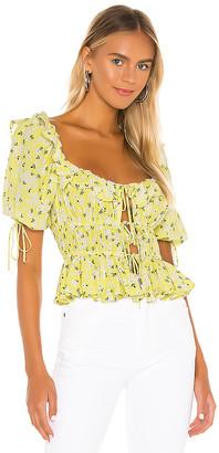 For Love & Lemons Chrysanthemum Blouse