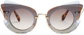 Miu Miu Butterfly-frame sunglasses