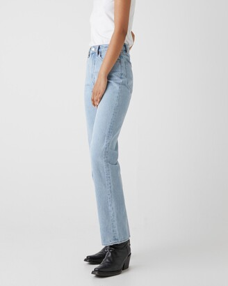 Neuw Women's Blue Straight - Nico Straight Jeans - Size 26 at The Iconic