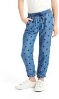 Gap Tencel® polka dot pants