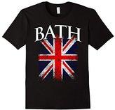 Women's Bath England British Flag Vintage Union Jack T-Shirt Medium