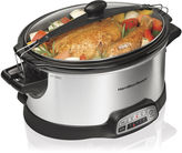 Hamilton Beach Stay or Go 6-qt. Programmable Slow Cooker