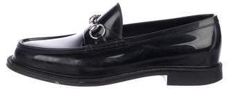 Gucci Rubber Horsebit Loafers