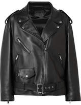 Prada Leather Biker Jacket - Black
