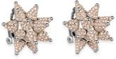 Swarovski Kalix Clip Earrings, Palladium plating