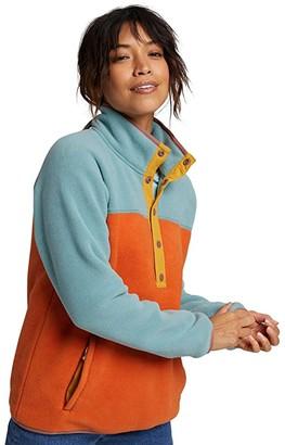 Burton Hearth Fleece Pullover (Trellis/Burnt Ochre) Women's Fleece
