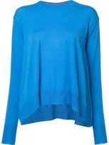 Stella McCartney large volume jumper - women - Virgin Wool - 36