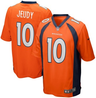 Nike Men's Orange Denver Broncos Jerry Jeudy 2020 NFL Draft First Round Pick Game Jersey