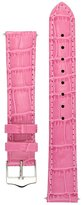 Signature Tropico watch band. Replacement watch strap. Genuine leather. Silver Buckle