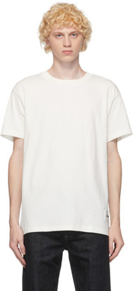 Jil Sander Three-Pack White Organic Cotton T-Shirt