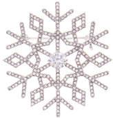 Nadri Jolly CZ Snowflake Pin
