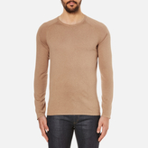 Hugo San Francisco Cotton Silk Cashmere Jumper Light/pastel Brown