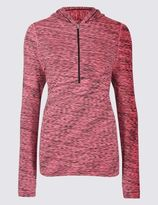 Marks and Spencer Santoni Seamfree Long Sleeve Top with Cool ComfortTM Technology