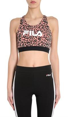 Fila Leopard Print Sports Bra