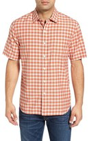 Tommy Bahama Checka Colada Original Fit Short Sleeve Sport Shirt