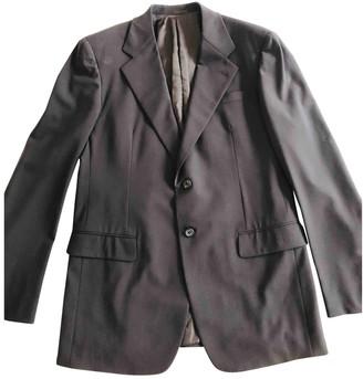 Prada Brown Wool Suits