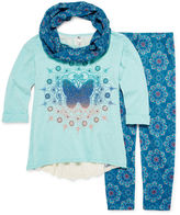Knitworks Knit Works Tunic, Leggings and Scarf - Girls 7-16