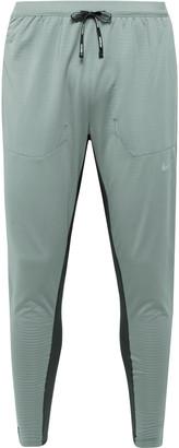 Nike Running Phenom Elite Slim-Fit Tapered Mesh-Panelled Stretch-Jersey Sweatpants
