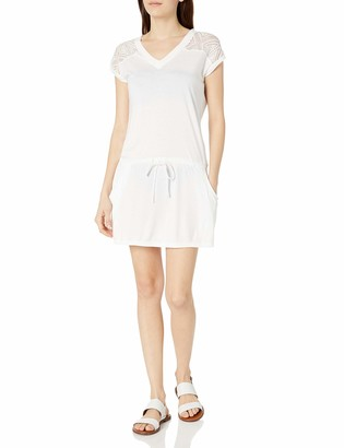 Rachel Roy Women's Lace Detail Dress Style Swim Coverup