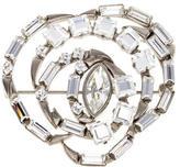 Gucci Crystal Swirl Brooch