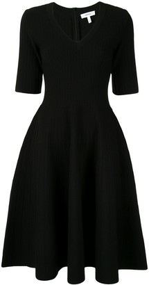 Casasola v-neck midi dress