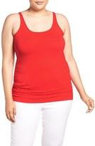 Sejour Plus Size Women's New Slim Strap Tank