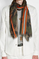 Valentino Scarf with Cashmere and Silk