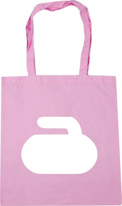 HippoWarehouse Curling stone Tote Shopping Gym Beach Bag 42cm x38cm 10 litres