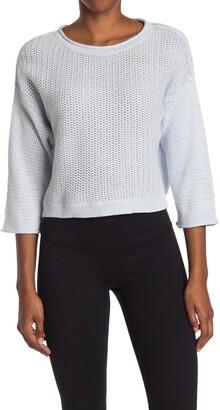 New Balance Cropped Sweater