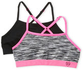 XOXO Girls 7-16) Two-Pack Seamless Sports Bras