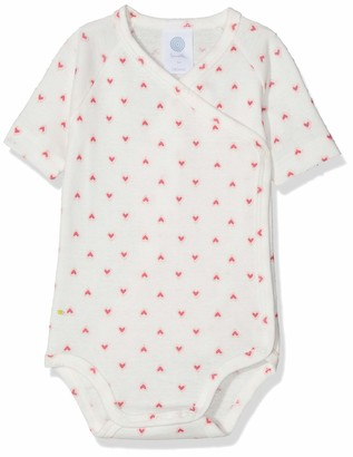 Sanetta Baby_Girl's Wrapover Body 1/2 Allover Bodysuit