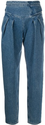 RED Valentino High-Waisted Denim Jeans