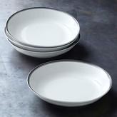 Williams Sonoma Open Kitchen Bistro Pasta Bowls, Set of 4, Black