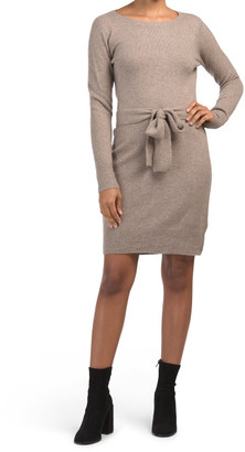 Long Sleeve Tie Front Recovery Dress