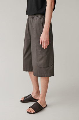 Cos Cargo Cotton Shorts