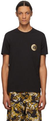 Versace Black and Gold Logo T-Shirt