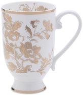 Mikasa Gift Mugs Toile Gold Footed Mug