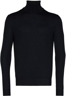 Canali Turtleneck Wool Jumper