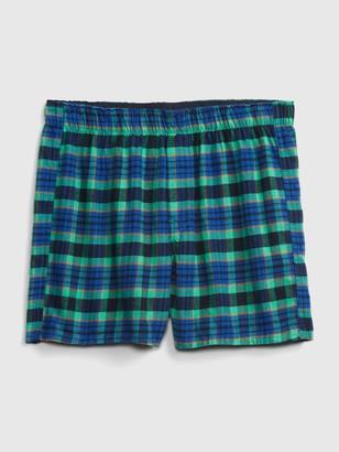 "Gap 4"" Flannel Boxers"