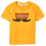 Levi's Toddler Boys) Gold Moustache Tee