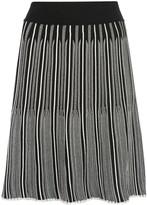 Casasola bi-colour stretch fit mini skirt