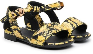Versace Barocco-print sandals