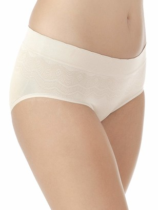 Vanity Fair Women's No Pinch-No Show Seamless Hip Brief Panty 18170
