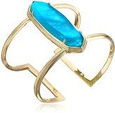 Kendra Scott Lawson Gold London Blue Illusion Cuff Bracelet