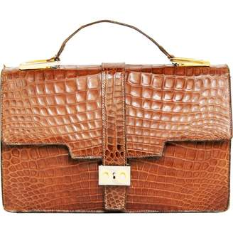 N. Non Signé / Unsigned Non Signe / Unsigned \N Brown Exotic leathers Handbags