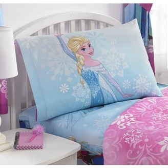 Disney Frozen Disney's Frozen Sheet Set, Kids Bedding, Nordic Frost