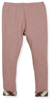 Burberry Penny Stretch Jersey Leggings, Size 4