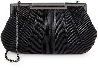 La Regale Mini Textured Metallic Clutch