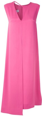 Gloria Coelho Panelled Midi Dress
